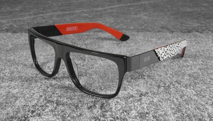{ POISON } 9FIVE 2THREE LTD 22 READER 喬丹爆裂紋限定款 美國西岸風格太陽眼鏡品牌