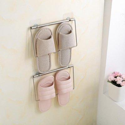 浴室拖鞋架廁所鞋架貼墻置物架收納架掛架...