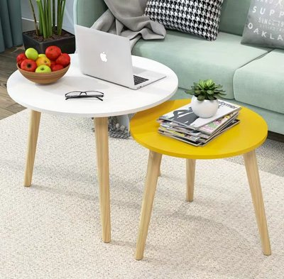 (訂貨價 $88 up)單層|雙層小茶几 30cm | 40cm| 50cm | 60cm 圓形 小圓枱 Tea Table Side Table