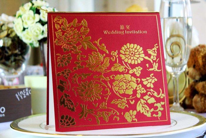 『潘朵菈精緻婚卡』※簡約時尚創意婚卡※【SP系列15元喜帖】喜帖編號:SP-8611