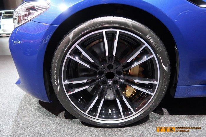類BMW G30 M5 2018 新款 M-power 選配式樣 20吋 5孔112/120 前後配 黑車面