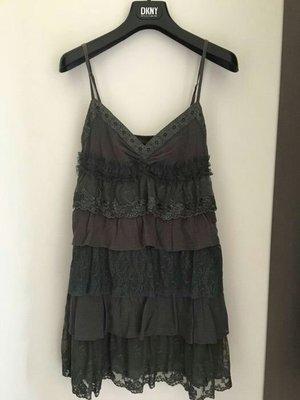 日本Dizzy 全新真品 墨綠色  蕾絲 洋裝