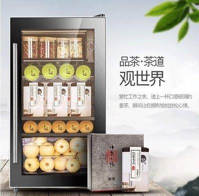 電子紅酒櫃 Fasato/凡薩帝BC-95冰吧冰箱冷藏櫃電子紅酒櫃酒櫃家用茶葉客廳迷你  DF