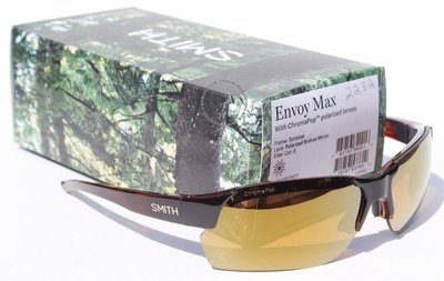SMITH OPTICS Envoy Max POLARIZED太陽眼鏡烏龜/青銅色ChopPop NEW  189