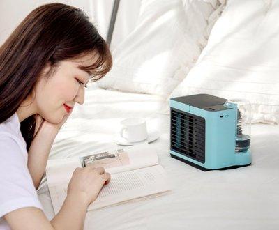 一定涼【移動式冷氣機 一般寶特瓶可用】迷你小空調 水冷扇 USB迷你空氣循環扇 電風扇 水冷氣扇 冷風扇 空調移動式冷氣