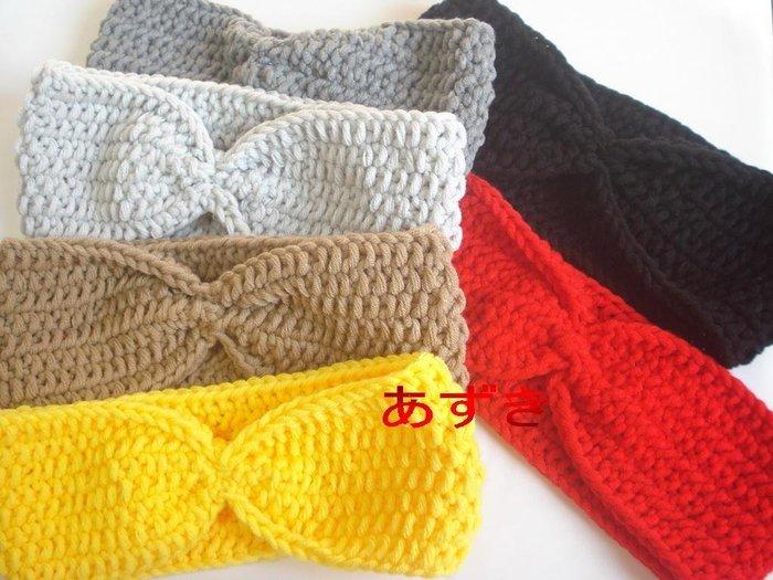 紅豆手作-毛線針織髮圈-網美x復古風系-單色x寬鬆.綜合色區