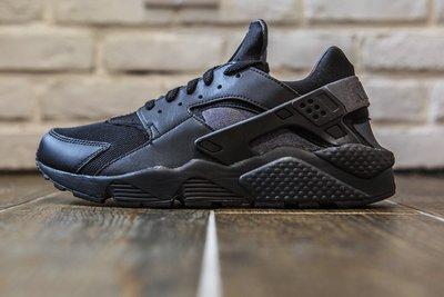 【超級特價】 NIKE Huarache Run GS  黑武士 黑色 慢跑鞋 跑步鞋 女鞋 654275020