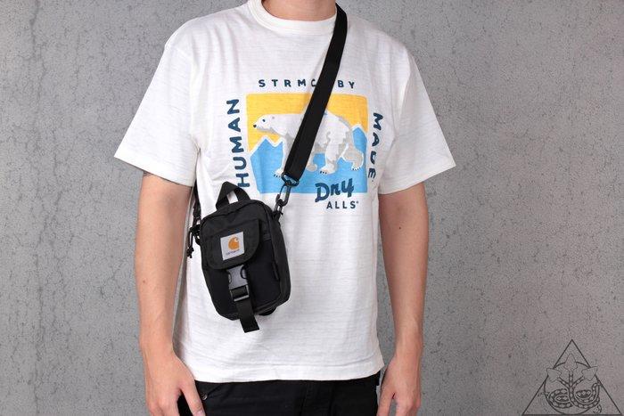 【HYDRA】Carhartt WIP Delta Shoulder Pouch  腰包 側背包 黑色【CATW18】