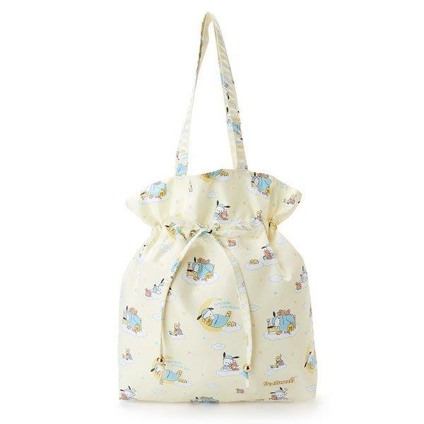 代購現貨  日本三麗鷗家族晚安系列抽繩手提袋
