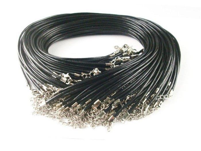 《316小舖》【AB01】 (優質綜合蠟繩項鍊 /黑色蠟繩/咖啡蠟繩/蠟繩項鍊/蠟繩項鏈/皮繩項鍊/皮繩項鏈/黑繩子)