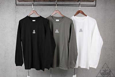 【HYDRA】Wtaps Position L/S Tee 長T Logo 字體【WTS95】