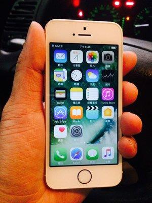 Apple iPhone SE 64GB~玫瑰金..8.5成新,