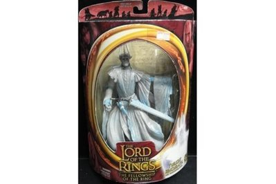 TOY BIZ LORD OF THE RINGS TWILIGHT RINGWRAITH WITH SWORD 魔戒首部曲 戒靈王 (LOTR-81147)