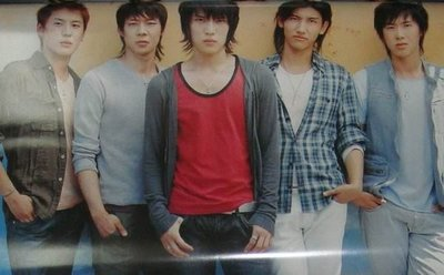 (TENSE catch me) JYJ 東方神起 TVXQ 2008年「日版」官方年曆(掛曆月曆) Calendar