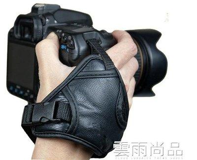 單反微單相機手帶相機配件 適用佳能尼康索尼賓得皮腕帶手腕帶