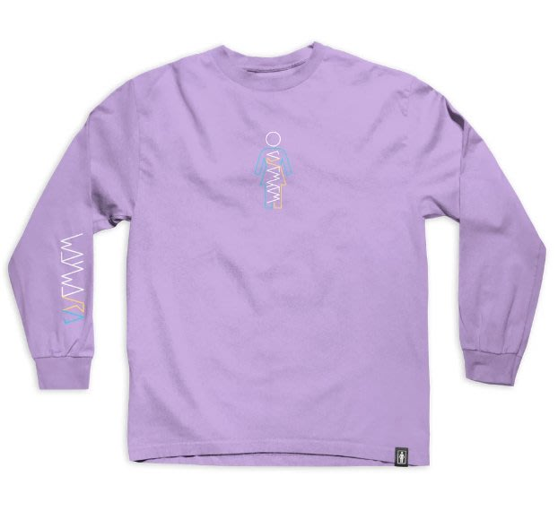 [JIMI 2] Girl Skateboards - Girl Wayward Og L/S 長Tee 人氣滑板品牌