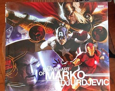 the Marvel art of Marko Djurdjevic Marvel 畫集