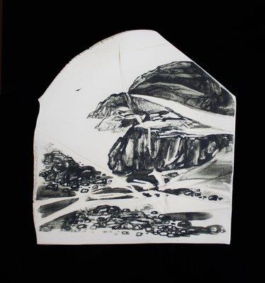鳳崗文創---{陶瓷14}---王慶鐘---畫我心中山---道場籌建特拍品不列入藝租