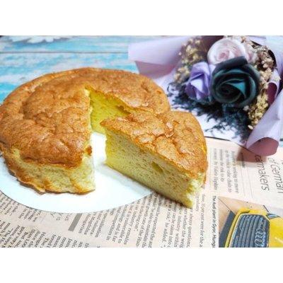6吋生酮戚風蛋糕(蛋香、濕潤、天然、平價、美味、無麩質、無糖、蛋奶素)母親節蛋糕」「父親節蛋糕」「生日蛋糕」