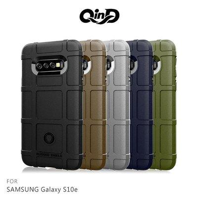 *phone寶*QinD SAMSUNG Galaxy S10e 戰術護盾保護套 防摔殼 TPU套 手機殼 保護殼