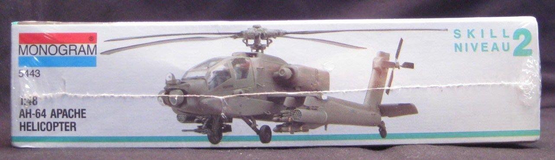 MONOGRAM 1/48 AH-64 Apache Helicopter (5443)