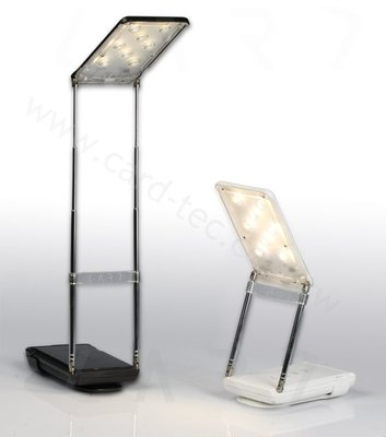 展銷福利品 【CARD】 CL2多功能旅行閱讀等級 照明檯燈+ 行動電源 攤販最愛-黑色
