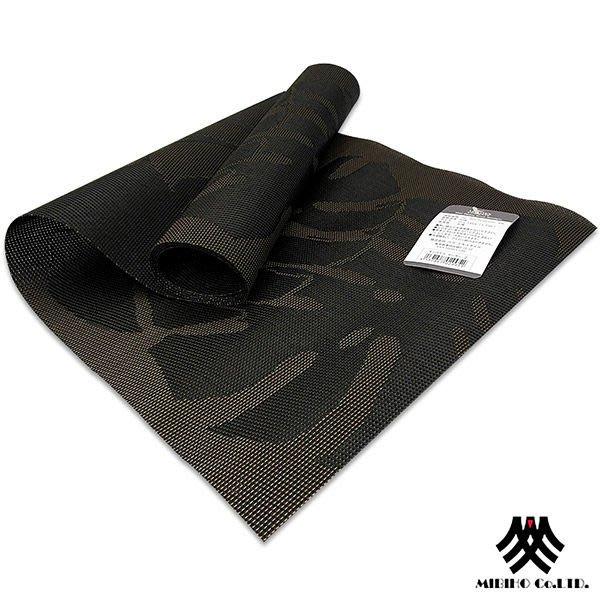 ~M.B.H─莫斯勒希~PVC防潑水桌旗 黑  33x130cm