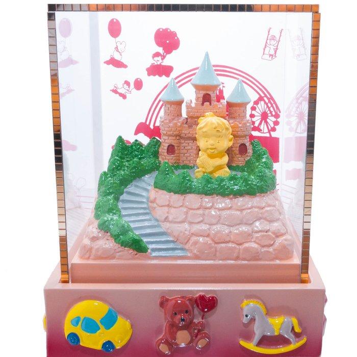 【JHT金宏總珠寶/GIA鑽石專賣】黃金擺件-小城堡女孩