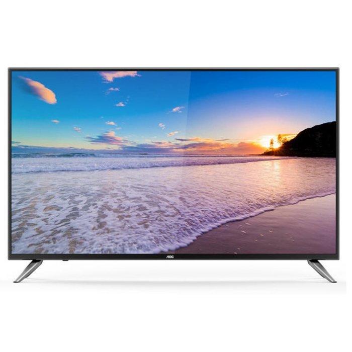 【免運費】美國 AOC LE50U7570 50吋 4K智慧聯網 淨藍光 LED液晶 電視/ 顯視器+視訊盒
