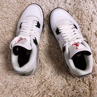 """Air Jordan 4 Golf """"White Cement 白水泥 休閒鞋 CU9981-100"""