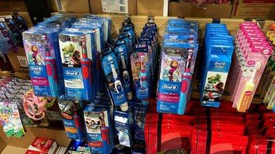 德國代購 現貨含運 Oral-B 百靈歐樂B 充電式 兒童電動牙刷,兒童刷頭3歲以上適用,麥坤款。