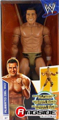 ☆阿Su倉庫☆WWE摔角 Alberto Del Rio 12 Inch Action Figure ADR 12吋巨型人偶 熱賣特價中