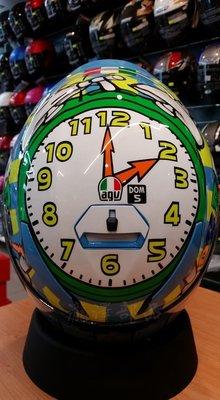 瀧澤部品 義大利 AGV K-3 SV WAKE UP 時鐘 全罩 安全帽 K3 羅西 VR46 通勤 內藏墨片MOTO 新北市