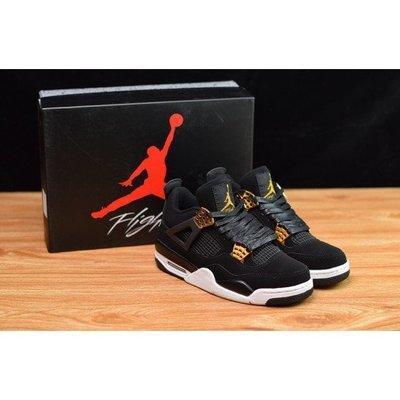 "Air Jordan 4 ""Royalty""黑金 AJ4 籃球鞋 男鞋 308497-032"