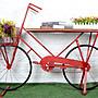 歐美鄉村創意自行車形店面櫥窗商品陳列展示...