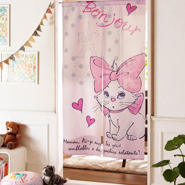 迪士尼Disney《預購》瑪麗貓 門簾 簾子~日本正品~150X85cm~心心小舖