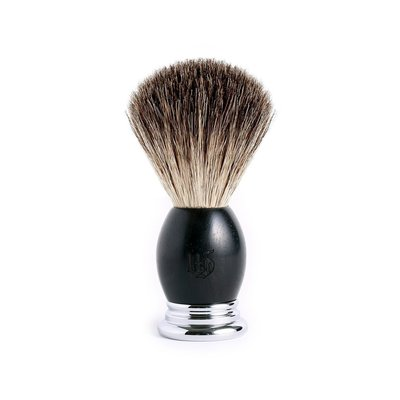 英國 Grand Manner 尊爵系列 純獾毛鬍刷(黑檀木 / Shaving Brush)