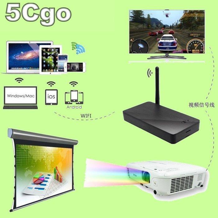 5Cgo【現貨】凱思特WPS185多人同時簡報,免驅動三分鐘筆電或手機連上投影機好簡單VGA/HDMI 有線/無線 含稅