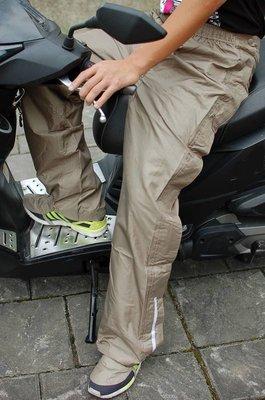 已賣出N件~3M技術--防水雨褲--側面可全開、方便穿脫、騎士必備、梅雨季雨衣-德國MOVEMEN