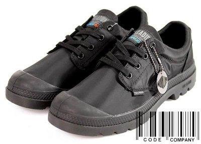 =CodE= PALLADIUM PAMPA OX PUDDLE LT+ WP 防水輕量軍靴(全黑)76116-001女