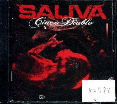 *真音樂* SALIVA 二手 K2784 (封面底破.CD有缺口不影響讀取)  (清倉.下標賣5)