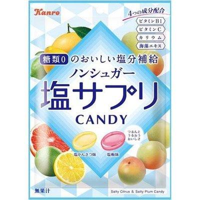 開胃 酸甜雙口味糖果 夏季檸檬柑橘 加上 甘甜梅子口味 塩味補給 零糖質! 好吃提振精神喔!
