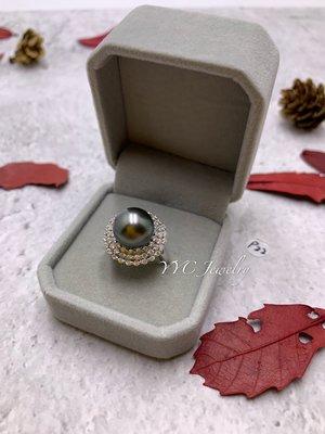 【YYC Jewelry】大溪地 圓珠 水晶 戒指 #P22 s925 可調式