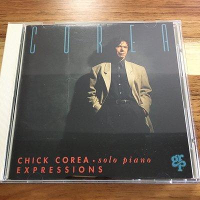 [老搖滾典藏] Chick Corea-Expressions Solo Piano 日版專輯
