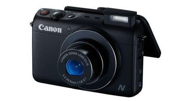 Canon POWER SHOT N100 彩虹公司貨  送備用電池