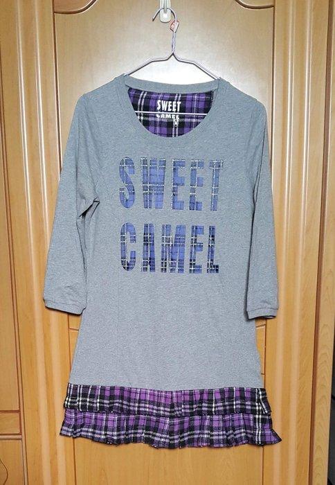 日本知名品牌SWEET CAMEL長版T恤M號