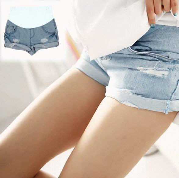幸せ孕媽咪 青春托腹褲 【PPW0119YS】 牛仔 孕婦 牛仔短褲 孕婦托腹褲 孕婦牛仔褲 孕婦褲