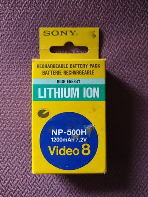 SONY  NP-500H電池