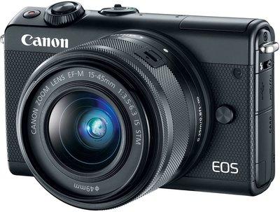 【高雄四海】Canon EOS M200 Kit(15-45mm) 全新平輸.一年保固.輕便微單眼.翻轉螢幕.4K
