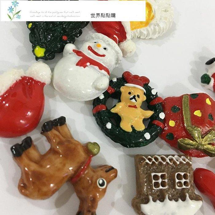 ZaKKa 圣誕老人冰箱貼  磁貼  個性卡通可愛磁性留言貼 黑白板貼 強力吸鐵石 冰箱貼  貼 紙 飾品 交換禮物 紀念品